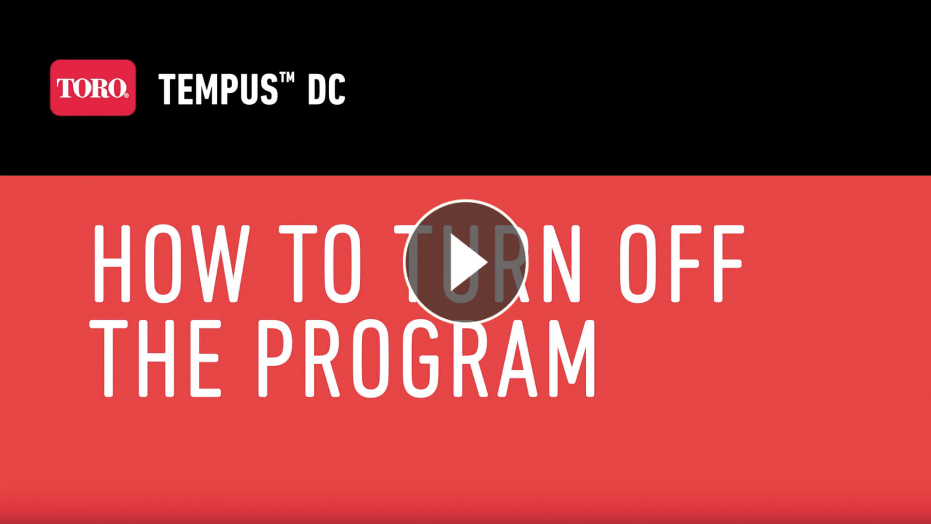 How To Turn Off Your Program